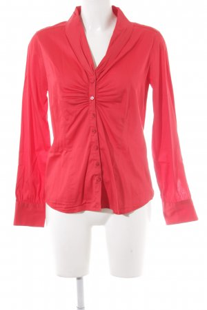 Eterna Glanzbluse rot Business-Look