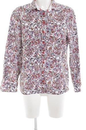 Eterna Hemd-Bluse Blumenmuster Elegant
