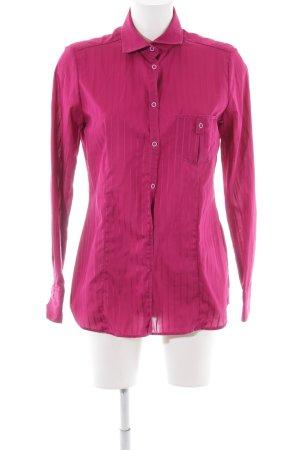 Eterna Hemd-Bluse pink Streifenmuster Casual-Look