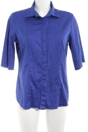 Eterna Hemd-Bluse neonblau Casual-Look