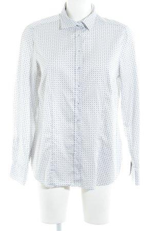 Eterna Hemd-Bluse abstraktes Muster Business-Look