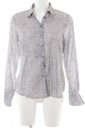 Eterna Hemd-Bluse beige Allover-Druck Casual-Look