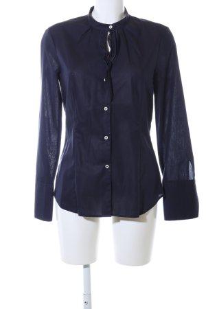 Eterna Hemd-Bluse blau Business-Look
