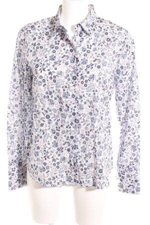Eterna Hemd-Bluse florales Muster Casual-Look