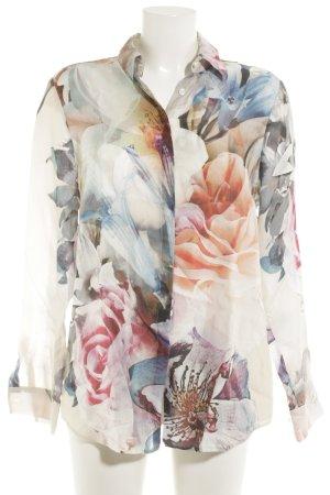 Eterna Hemd-Bluse florales Muster Elegant