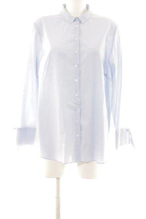 Eterna Hemd-Bluse hellblau-weiß Casual-Look