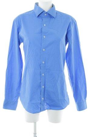 Eterna Hemd-Bluse kornblumenblau Business-Look