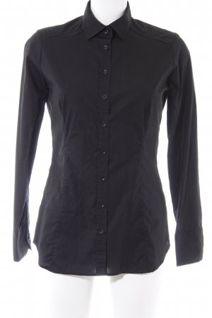 Eterna Hemd-Bluse schwarz Casual-Look