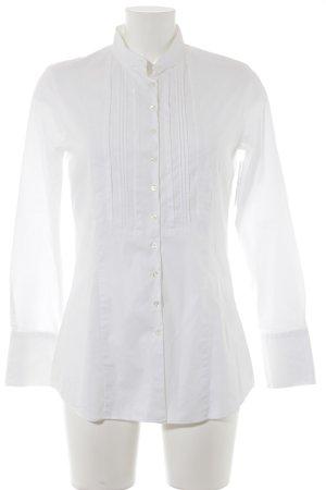 Eterna Hemd-Bluse weiß klassischer Stil