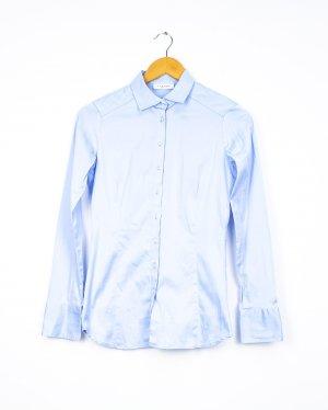 Eterna Long Sleeve Shirt azure cotton
