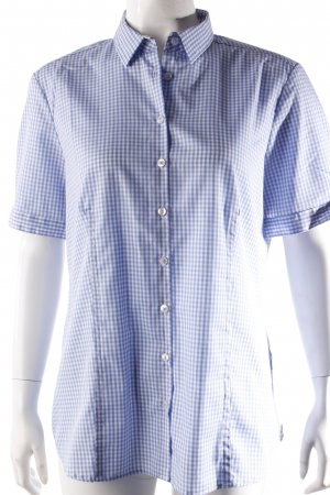 Eterna short sleeve shirt plaid