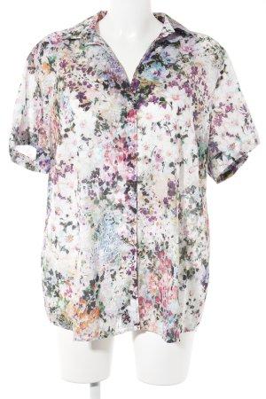 Eterna Camisa de manga corta estampado floral Estilo playero