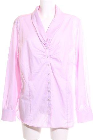 Eterna Langarm-Bluse pink Business-Look