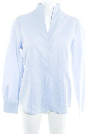 Eterna Langarm-Bluse himmelblau Business-Look