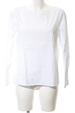 Eterna Langarm-Bluse weiß Elegant