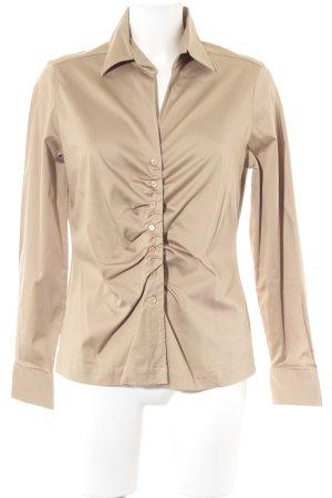 Eterna Langarmhemd beige Casual-Look