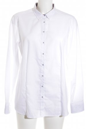 Eterna Long Sleeve Shirt white casual look