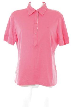 Eterna Polo-Shirt neonrot sportlicher Stil