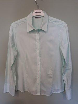 Eterna Premium Bluse, Größe 40, mint