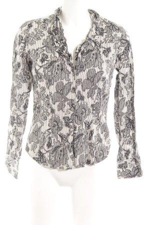 Eterna Ruche blouse bloemenprint casual uitstraling