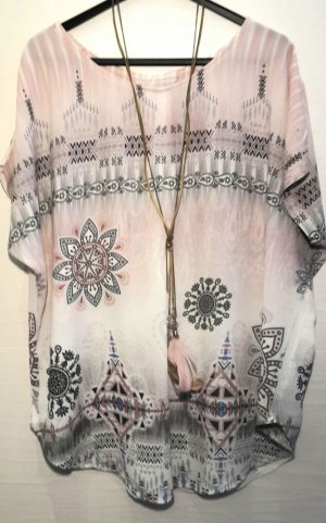 Made in Italy Slip-over Blouse multicolored