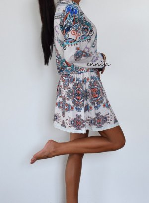 Ethno Boho Hippie Style Kleid XS 34 NEU