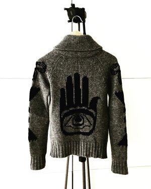 ethno / cardigan / strickjacke / lambswool / knits