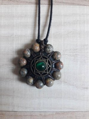 Ethno, hippie Talisman/Medaillon