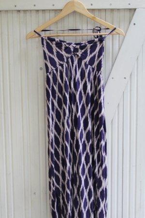 Accessorize Robe longue blanc-violet foncé