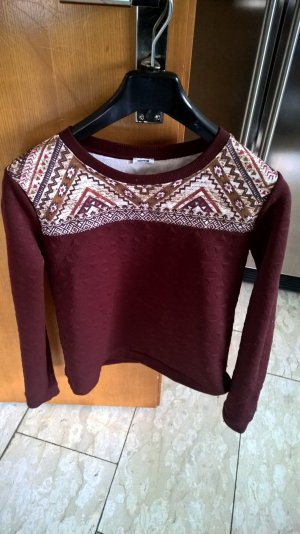ethno pullover. groesse S