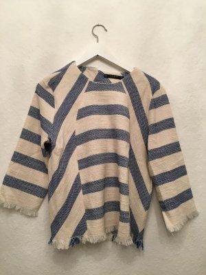 Ethno Shirt blau weiss ❤ Ibiza Style ❤