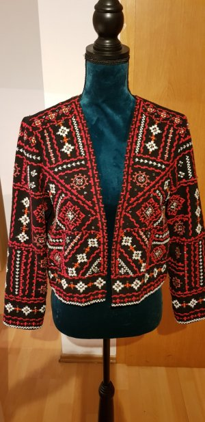 Ethno Styl kurze Jacke von Zara
