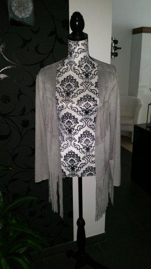 Ethno#Style#Jacket#grey
