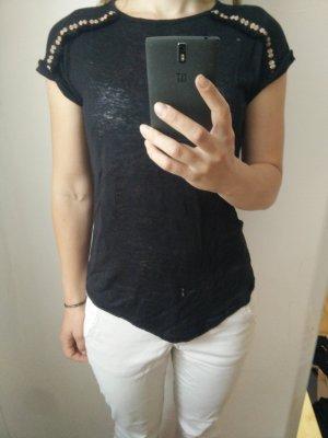 Ethno T-Shirt schwarz