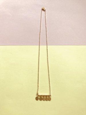 Ethnostyle Halskette goldfarben