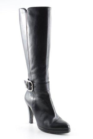 Etienne Aigner Absatz Stiefel schwarz klassischer Stil