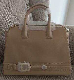Etienne Aigner All In Tasche Crossbody Leder neu Nude beige gold Handtasche Schultertasche