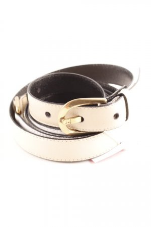 Etienne Aigner Belt Buckle white-beige street-fashion look