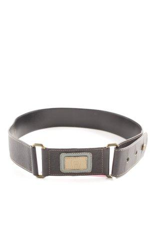 Etienne Aigner Cinturón de cadera negro estilo «business»