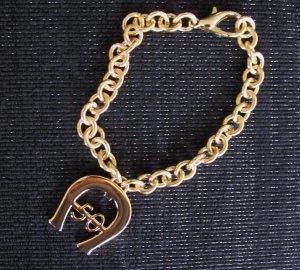 Etienne Aigner Logo Armband gold ♥ungetragen ♥ goldfarbig 50 Jubiläumsedition