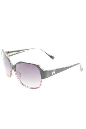Etienne Aigner ovale Sonnenbrille braunviolett Casual-Look