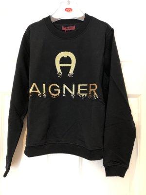 Etienne Aigner Pullover Pulli in schwarz Gr S (36)