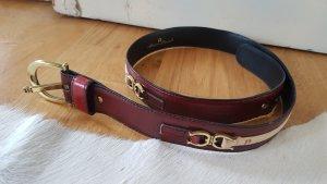 Etienne Aigner Cinturón color oro-coñac
