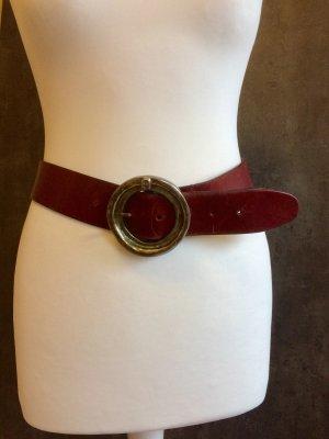 Aigner Waist Belt brown red