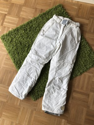 Etirel Sneeuwbroek wit-grijs