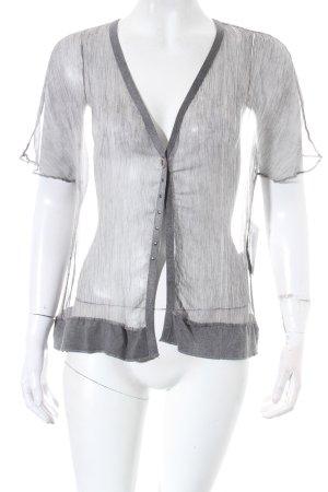Etnia Barcelona Cardigan grau schlichter Stil