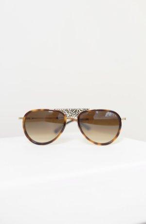 Etnia Barcelona Sonnenbrille braun Vintage Aviator Neu und ungetragen