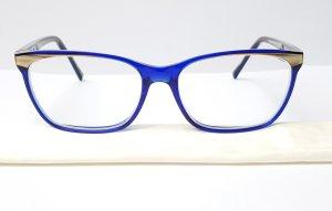 Etnia Barcelona Occhiale blu-oro Acetato