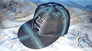 Etnies Gorra de béisbol negro-azul neón