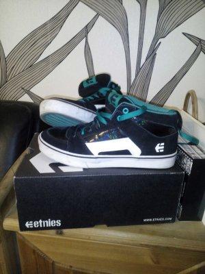 Etnies Sneakers blau schwarz selten getragen